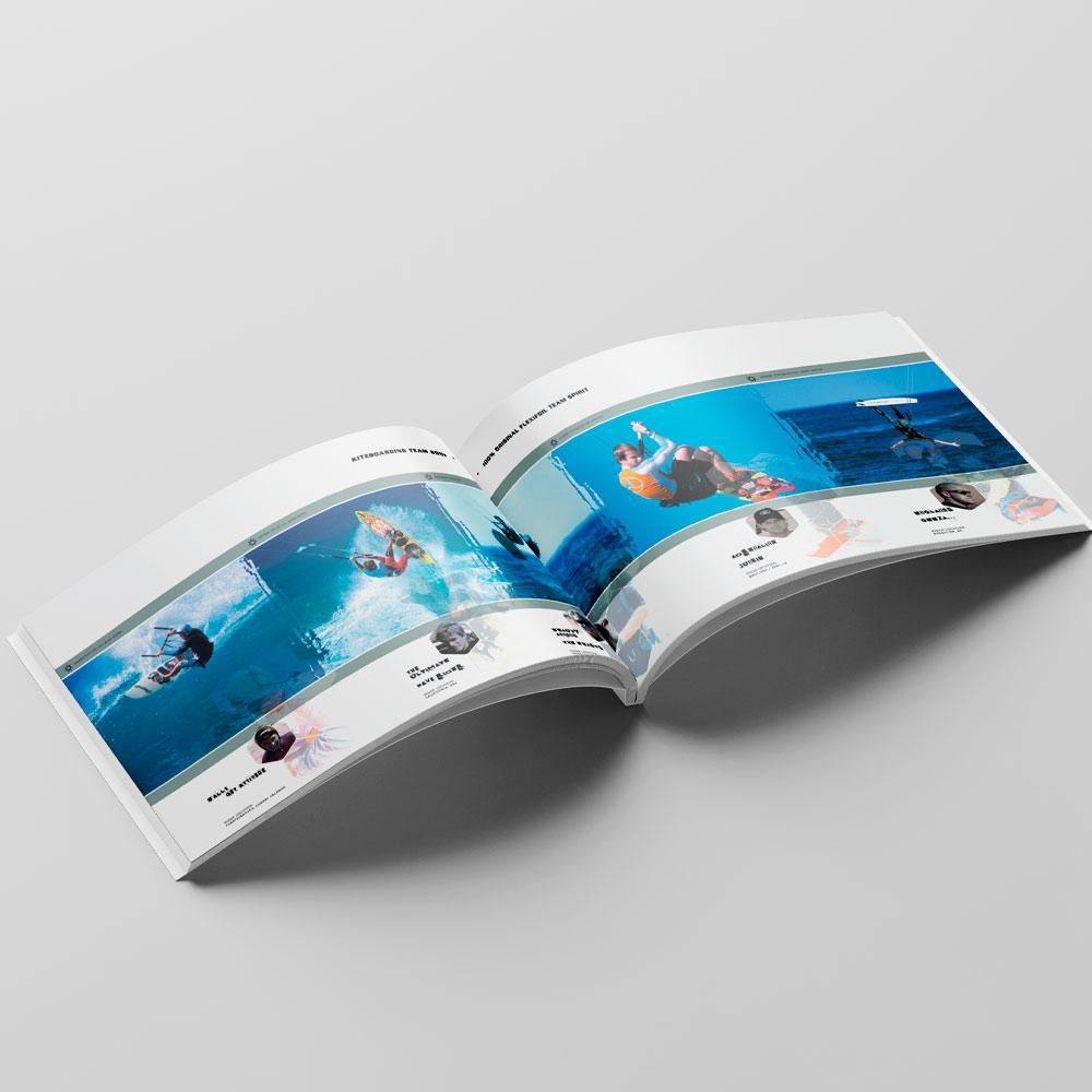 A4 Flexifoil kitesurfing brochure