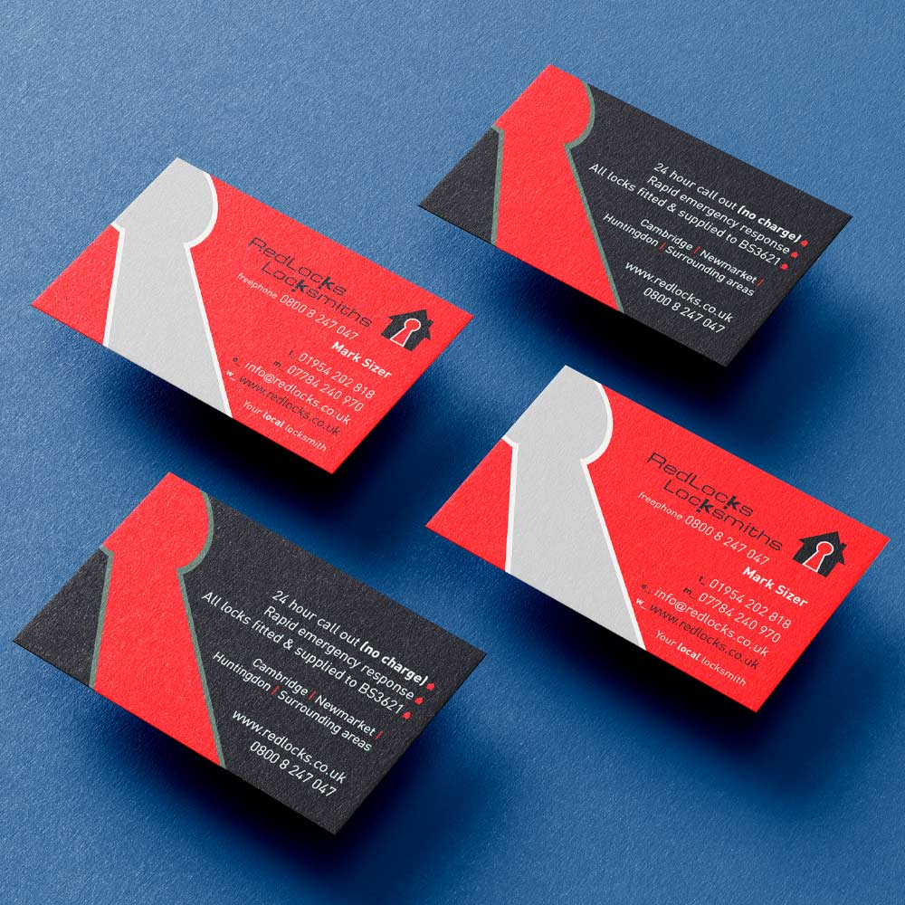 Redlocks Business card design