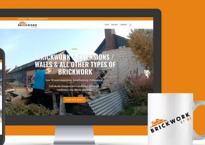 Brickworkbyme website design