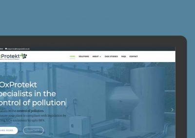 noxprotekt website design
