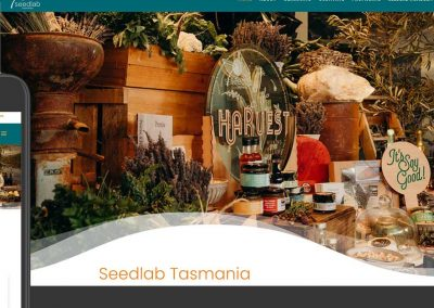 Seedlab Tasmania website design